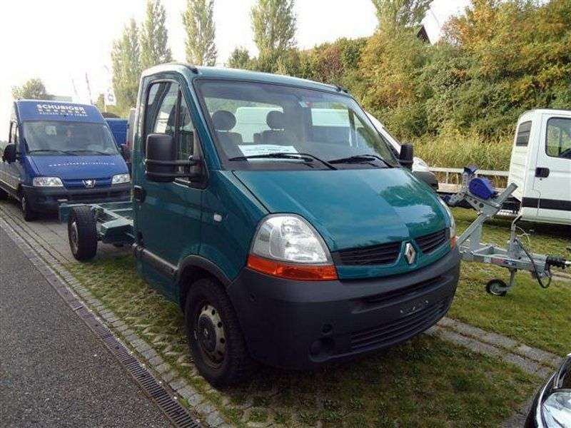 Renault Master 2nd generation [2nd restyling] 2.5 dCi chassis Quickshift L3H1 (2006–2010)