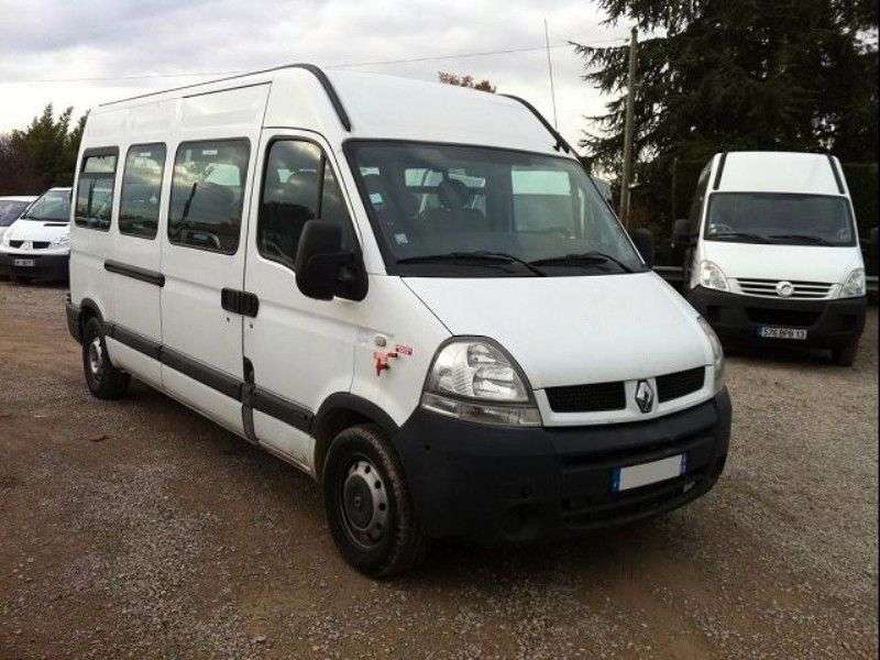 Renault Master 2nd generation [restyling] Minibus 2.5 dCi L1H1 MT (2003–2006)