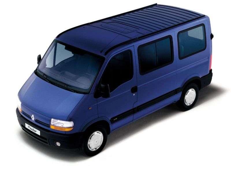Renault Master 2nd generation Minivan 2.2 dCi L2H2 MT (2000–2003)