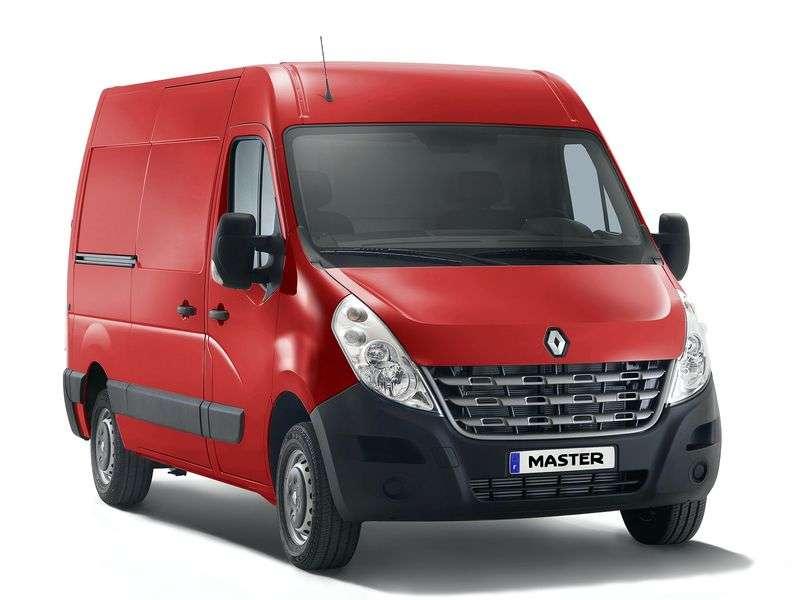 Renault Master 3 generation van 2.3 dCi MT RWD L4H3 Basic (2010 – current century)