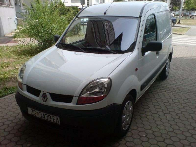 Renault Kangoo 1st generation [restyled] Express van 1.9 dTi MT AWD (2003–2005)