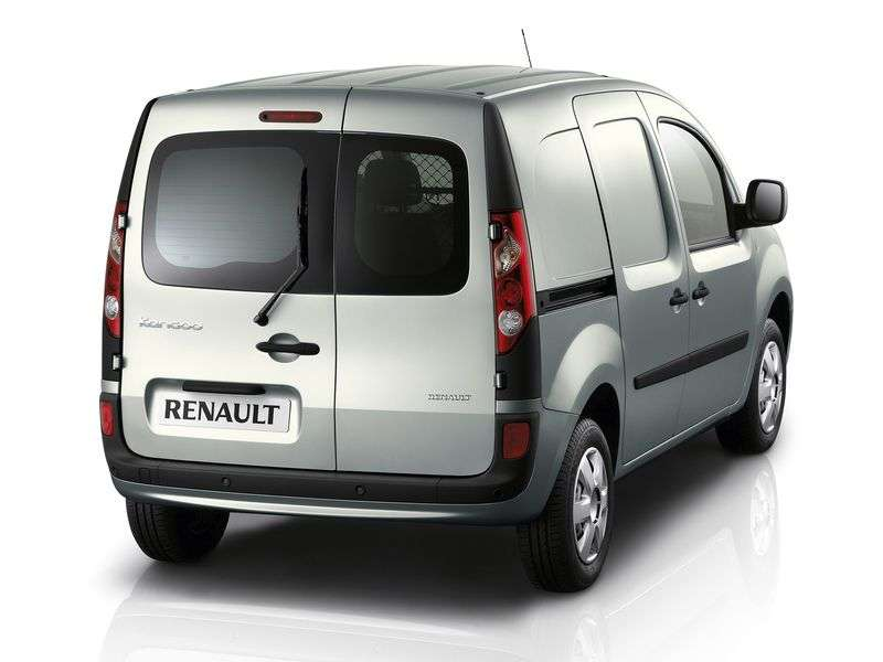 Renault Kangoo 2nd generation van 1.6 MT Basic (2007 – present)
