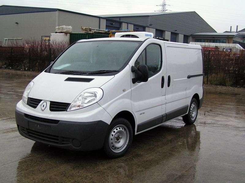 Renault Trafic 2nd generation [restyled] van 2.0 dCi MT L2H1 Basic (2006–2013)