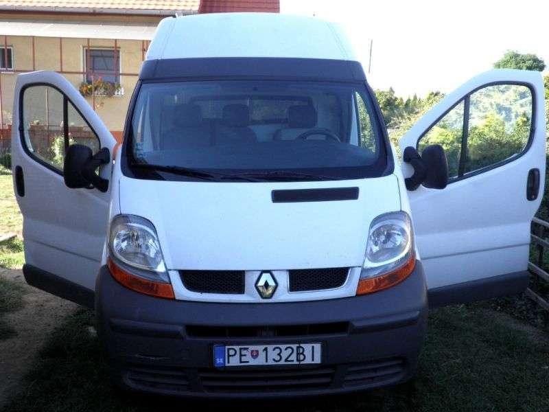 Renault Trafic 2 generation van 4 dv. 2.0 L1H1 MT (2001–2006)