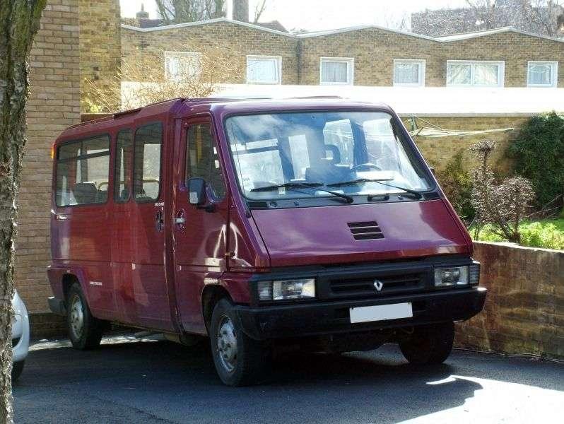 Renault Master 1st generation [restyled] Minivan 2.5 TD L3H2 MT (1994–1997)