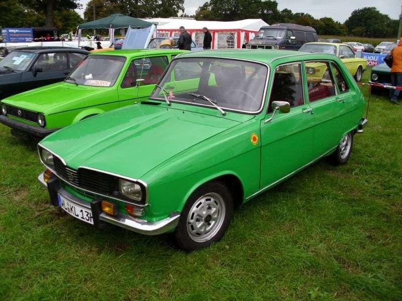 Renault 16 1st generation [2nd restyling] 1.6 AT hatchback (1974–1976)