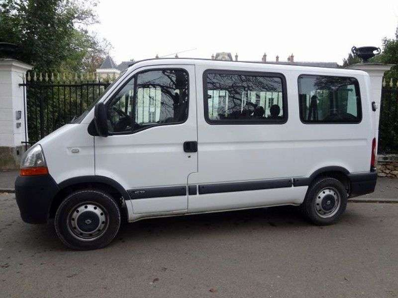 Renault Master 2nd generation [2nd restyling] Combi minibus 2.5 dCi Quickshift L2H2 (2006–2010)