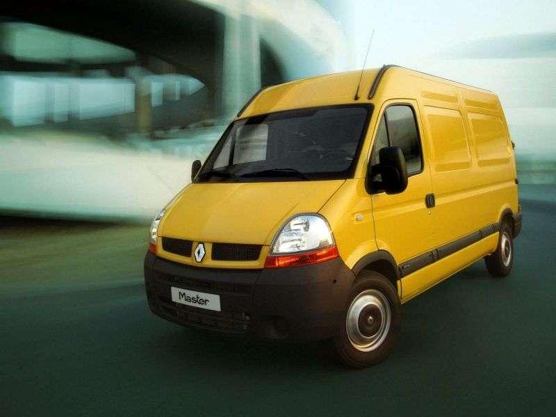 Renault Master 2nd generation [restyled] 2.5 dCi L3H3 MT van (2003–2006)
