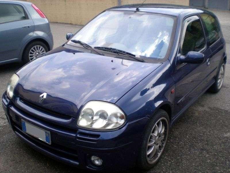 Renault Clio 2 generation hatchback 3 dv. 2.0 Sport MT (2000–2001)
