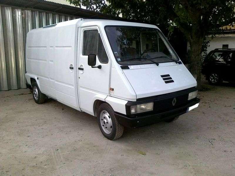 Renault Master 1st generation van 2.5 D L2H1 MT (1980–1989)