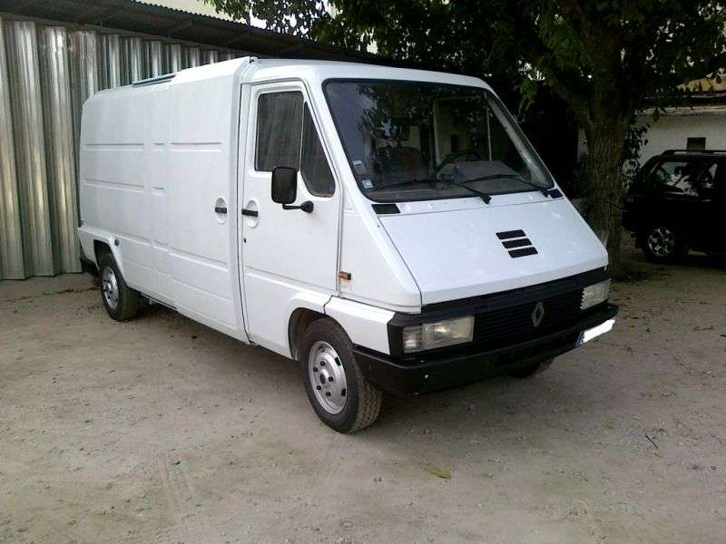 Renault Master 1st generation van 2.5 TD L3H1 MT (1990–1994)