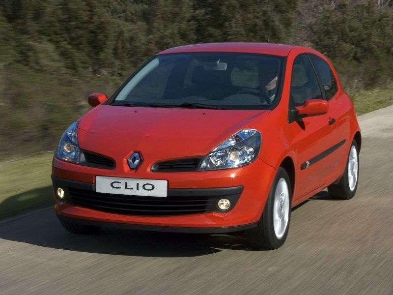 Renault Clio 3 generation hatchback 3 dv. 1.4 MT (2005–2009)