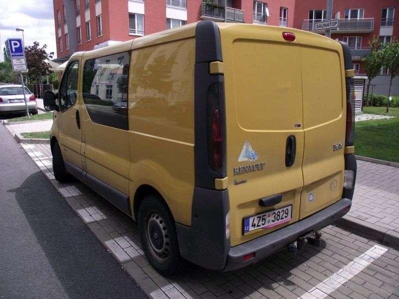 Renault Trafic 2 generation Combi van 4 dv. 1.9 dCi L1H1 MT (2001–2006)