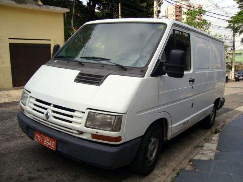 Renault 1st generation [2nd restyling] van 1.6 L2H2 AWD MT (1997–2002)