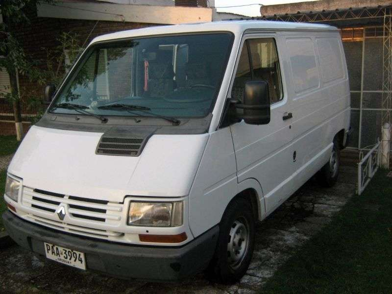 Renault 1st generation [2nd restyling] van 1.6 L1H1 AWD MT (1997–2002)