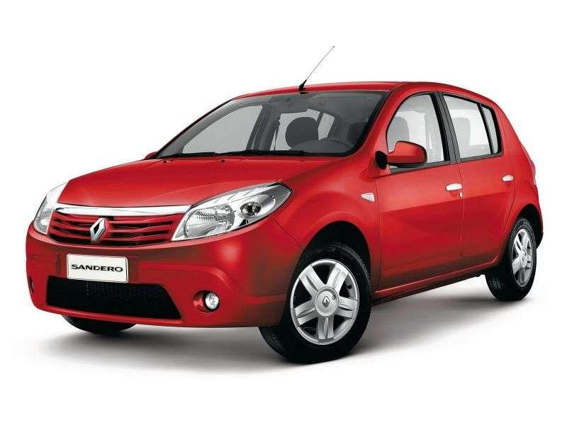 Renault Sandero 1st generation hatchback 5 dv. 1.6 AT Prestige (2009 – present)
