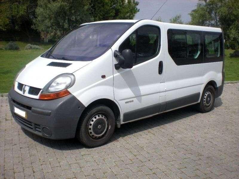 Renault Trafic 2nd generation Minibus 2.0 MT (2001–2006)
