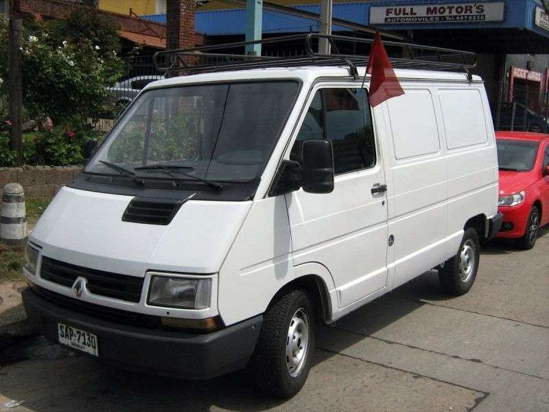 Renault 1st generation [2nd restyling] van 2.5 D L1H2 MT (1997–2002)