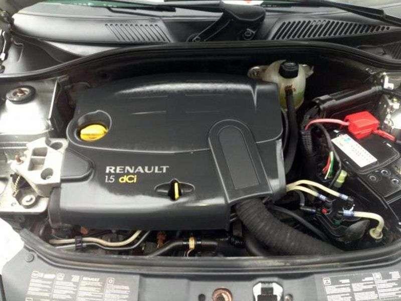 Renault Clio Campus [2nd restyling] 1.5 dCi MT van (2006–2009)
