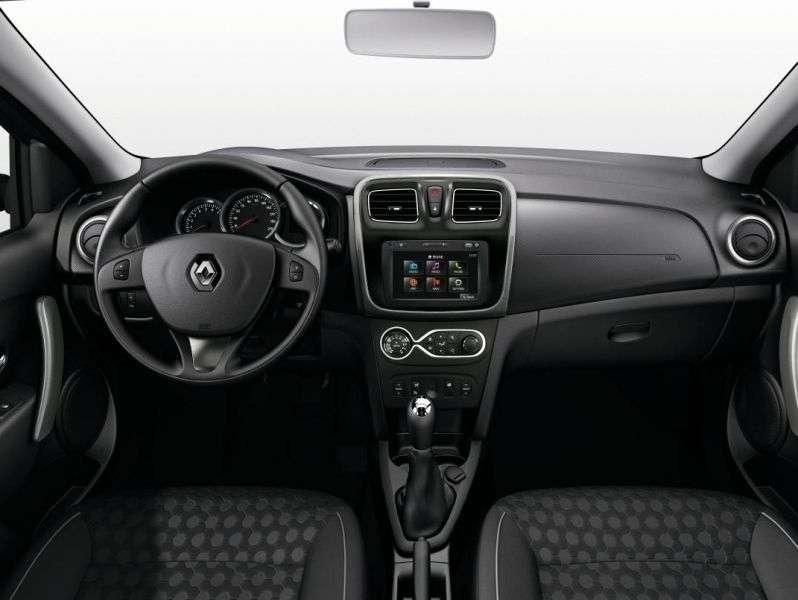 Renault Sandero 2 generation hatchback 5 dv. 0.9 TCe MT (2013 – present)