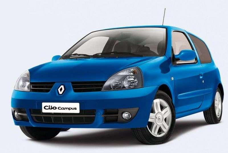 Renault Clio Campus [2nd restyling] 3 bit hatchback 1.5 dCi MT (2006–2009)