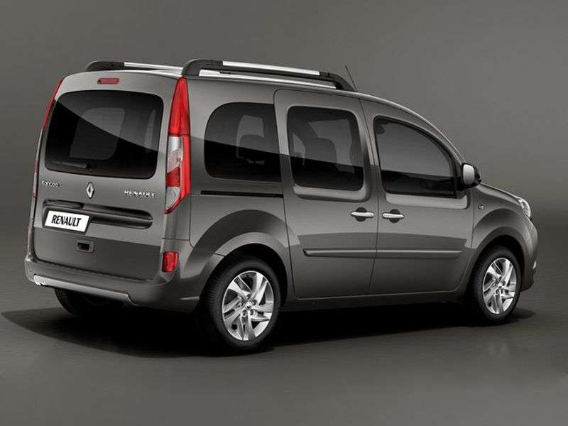 Renault Kangoo 2nd generation [restyling] minivan 1.6 MT Authentique (2013 – v.)