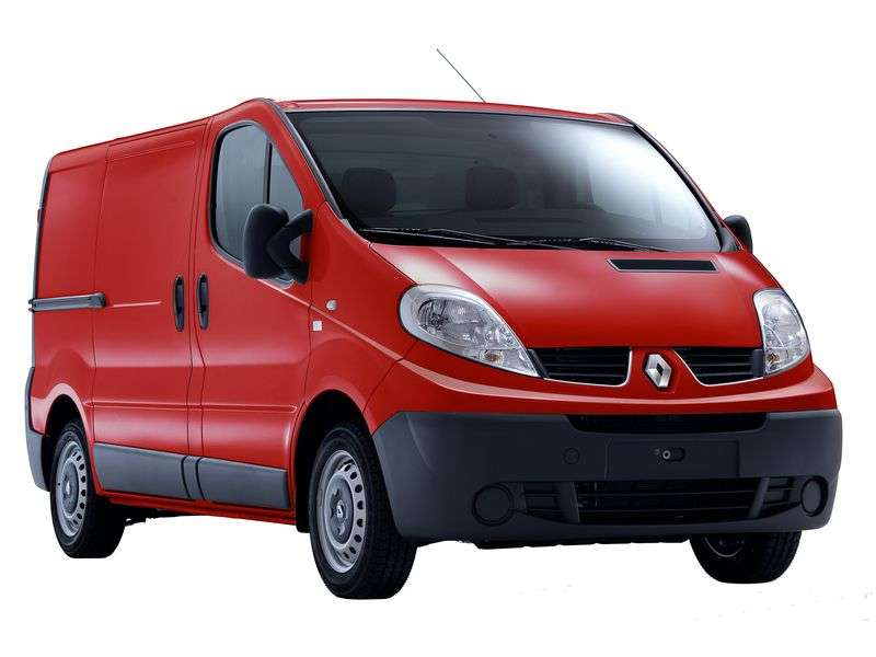 Renault Trafic 2nd generation [restyled] van 2.0 MT L2H1 Basic (2006–2013)