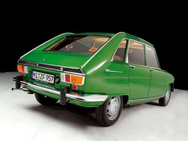 Renault 16 1st generation [restyled] 1.6 AT hatchback (1971–1974)