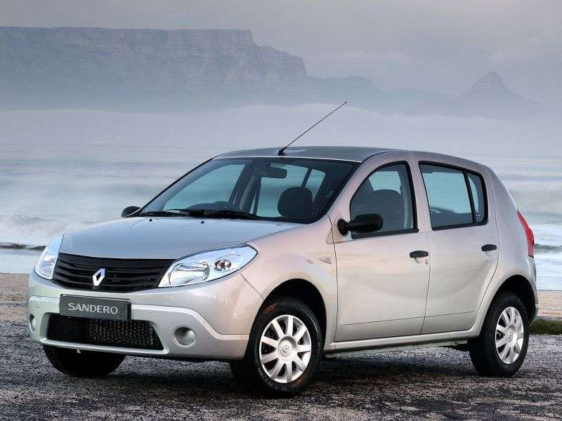 Renault Sandero 1st generation hatchback 5 dv. 1.6 AT Expression (2009 – n. In.)