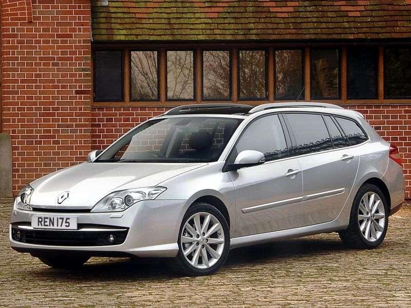 Renault Laguna 3rd generation Grandtour wagon 2.0 dCi AT (2007 – n.)