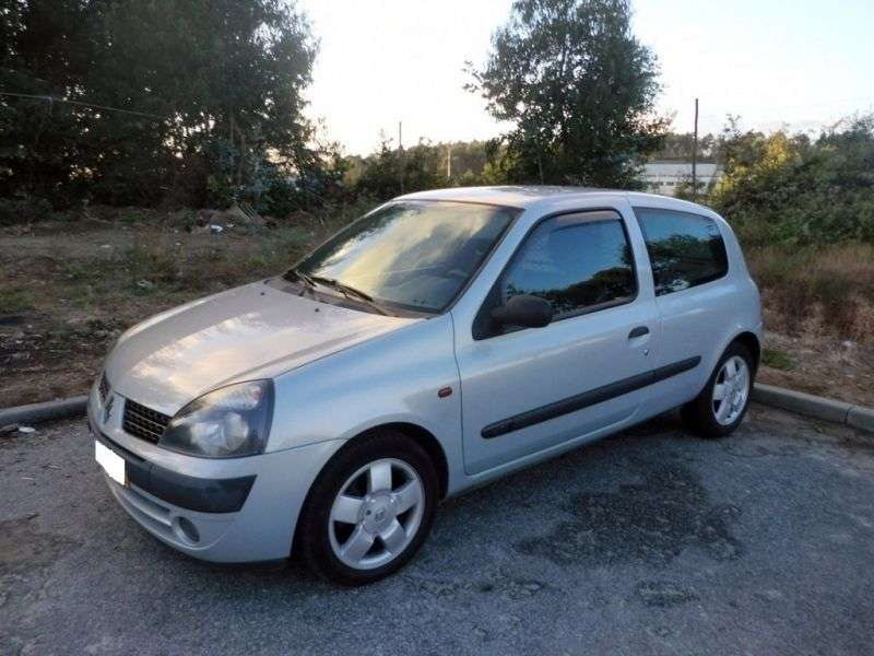 Renault Clio 2nd generation [restyling] 3 bit hatchback 1.6 AT (2001–2005)