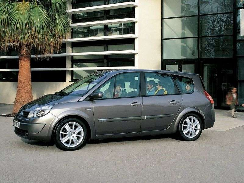 Renault Scenic 2nd generation Grand 5 door minivan 2.0 MT (2003–2006)