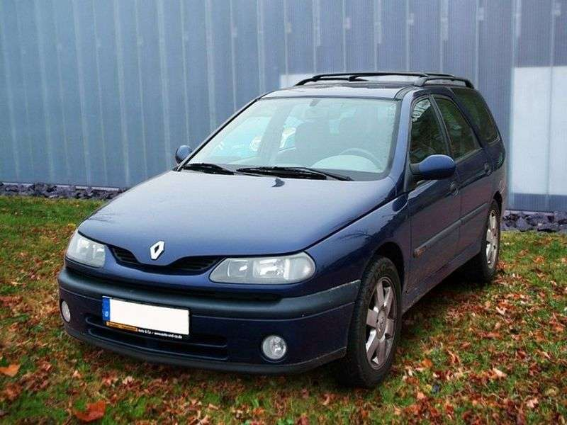 Renault Laguna 1st generation [restyled] Grandtour wagon 3.0 AT (1998–2001)