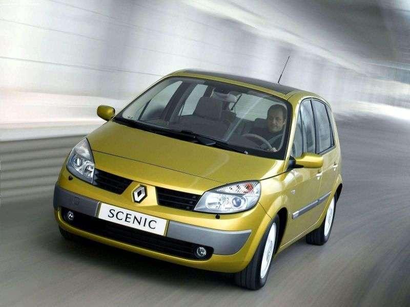 Renault Scenic 2nd generation minivan 5 dv. 2.0 AT (2003–2006)