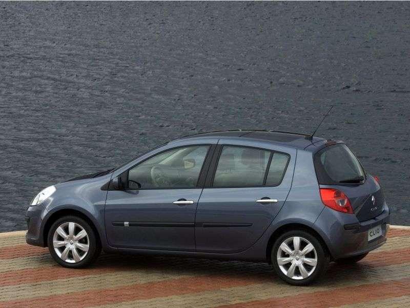 Renault Clio 3 generation hatchback 5 dv. 1.4 MT (2005–2009)