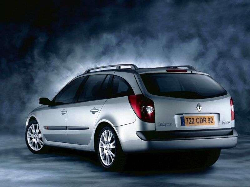 Renault Laguna 2nd generation Grandtour wagon 3.0 AT (2001–2005)