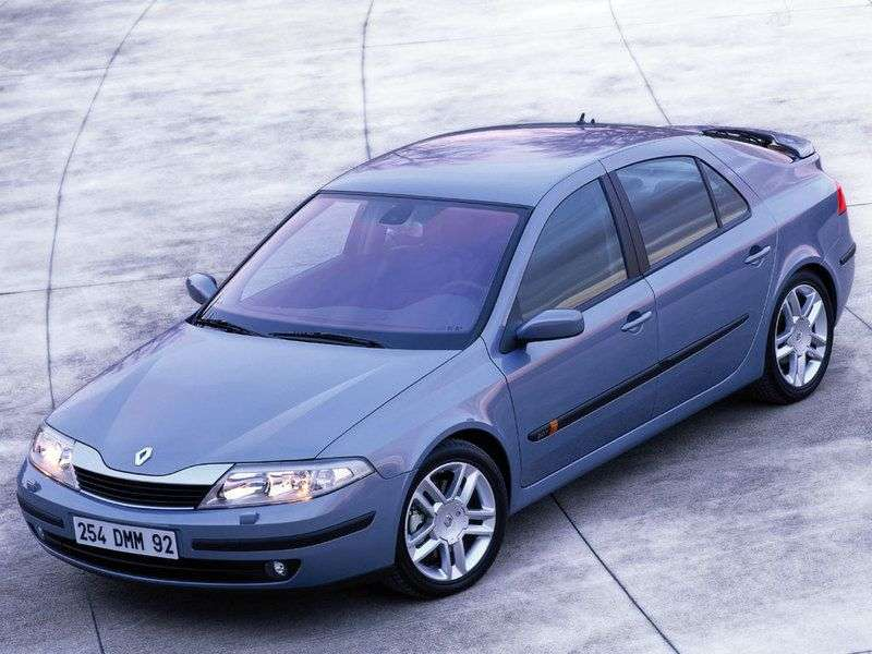 Renault Laguna 2nd generation hatchback 2.0 T AT (2002–2005)