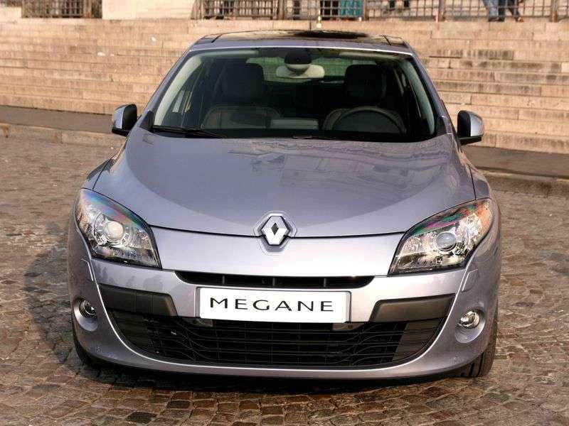 Renault Megane 3 generation hatchback 5 dv. 1.5 dCi MT (2008–2009)