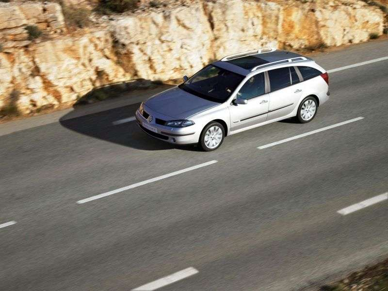Renault Laguna 2nd generation [restyled] Grandtour wagon 2.2 DCi AT (2005–2007)