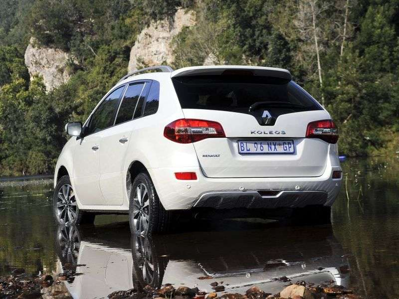 Renault Koleos 1st generation [restyled] crossover 2.0 dCi AT 4WD Dynamique Confort (2013) (2011–2013)