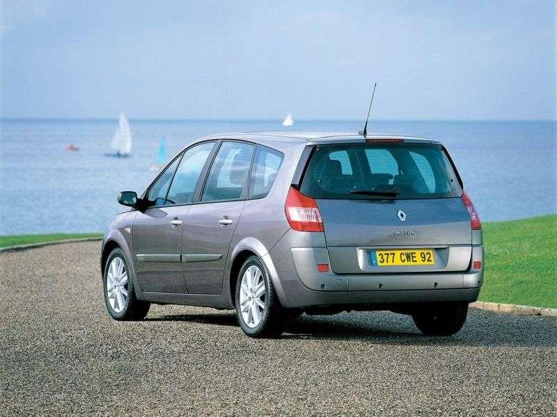Renault Scenic 2nd generation Grand 5 door minivan 1.9 dCi MT (2003–2005)