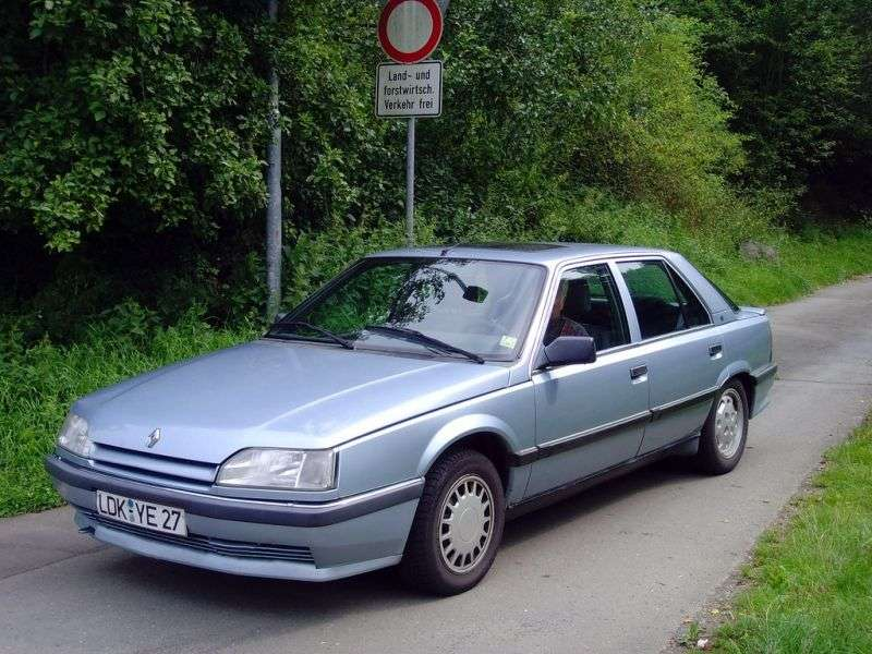 Renault 25 1st generation [restyling] liftback 2.2 MT (1988–1992)