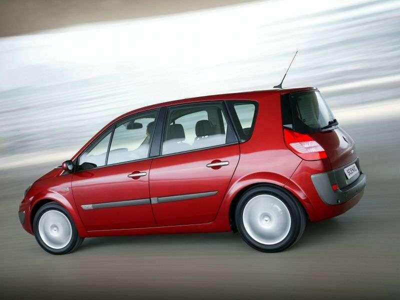 Renault Scenic 2nd generation minivan 5 dv. 2.0 T MT (2003–2006)