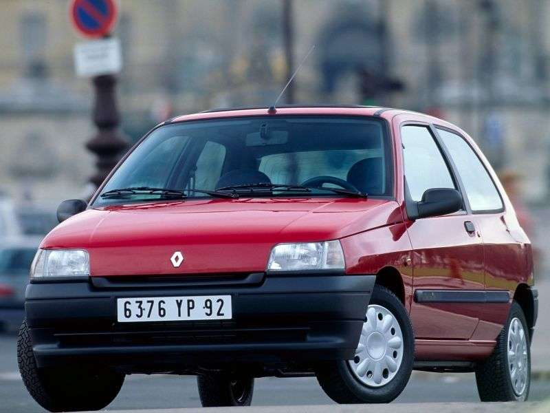 Renault Clio 1 generation hatchback 3 dv. 1.1 AT (1990–1995)