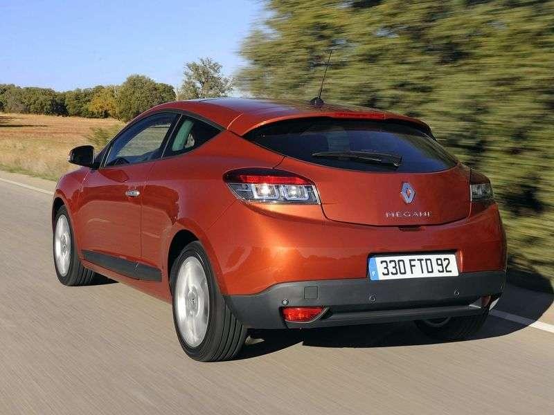 Renault Megane 3 generation hatchback 3 dv. 2.0 CVT Privilege (2011) (2009–2012)