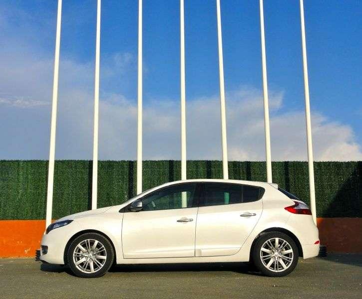 Renault Megane 3 generation [restyling] GT hatchback 5 dv. 2.0 TCe MT (2012 – n. In.)