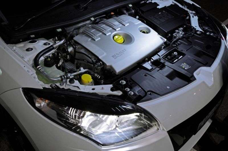 Renault Megane 3rd generation [restyling] GT hatchback 3 dv. 2.0 TCe MT (2012 – n. In.)
