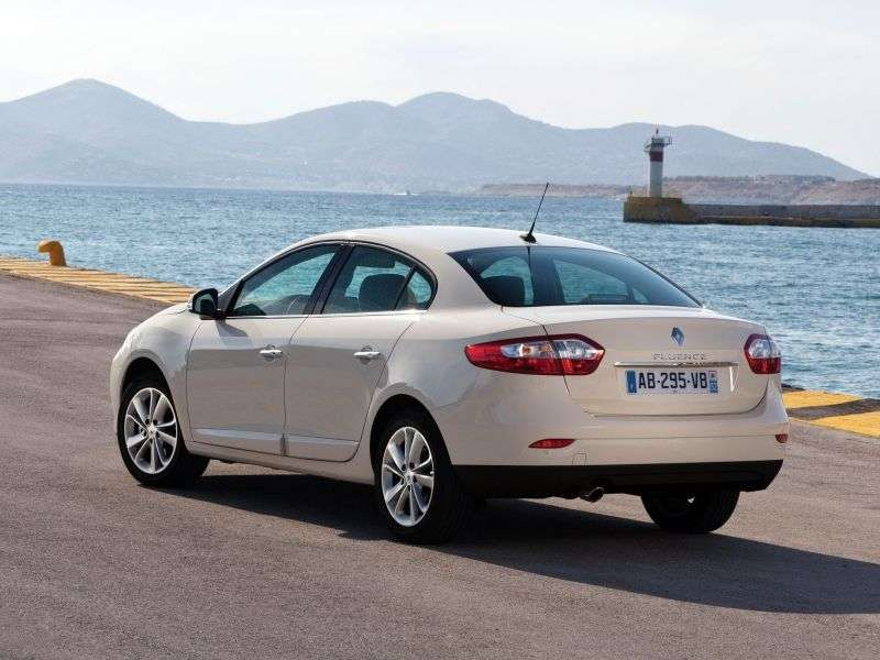 Renault Fluence 1st generation [restyled] sedan 2.0 CVT Expression (2013 – n.)