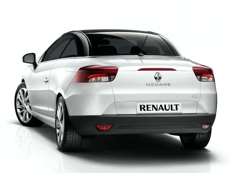 Renault Megane 3 generation convertible 2 dv. 1.4 TCe MT (2010–2012)