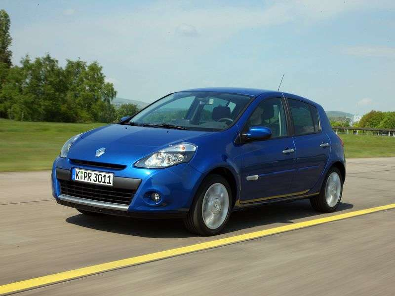 Renault Clio 3 generation [restyling] hatchback 5 dv. 1.6 AT Dynamique (2011) (2009–2012)
